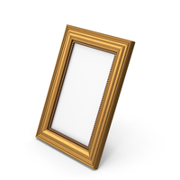 Small Gold Photo Frame PNG & PSD Images