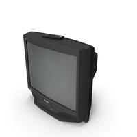 Sony KV 27S46 Retro CRT TV with IR Control Off PNG & PSD Images