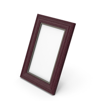 Small Wood Photo Frame PNG & PSD Images