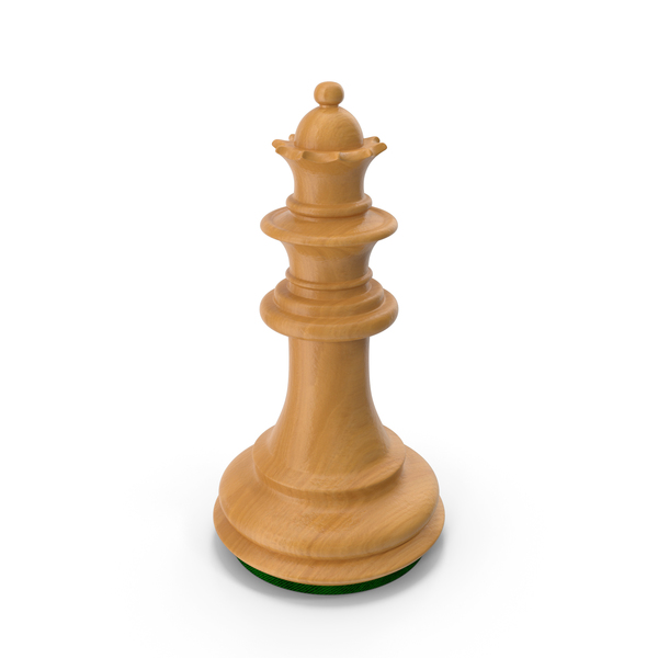 Wooden Chess Queen PNG & PSD Images