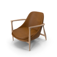 Elizabeth Chair Oak Brown PNG & PSD Images