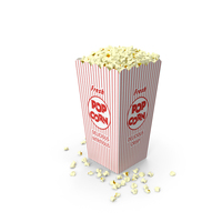 Popcorn in Box PNG & PSD Images