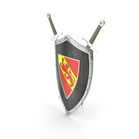 Shield Sword Hangers PNG & PSD Images