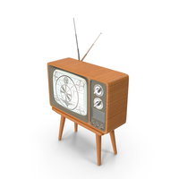 Retro TV Set PNG & PSD Images