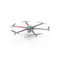 Multi-Rotor Aerial Platform With Camera Gimbal PNG & PSD Images