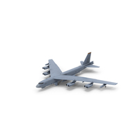 Boeing B52 Stratofortress Strategic Bomber PNG & PSD Images