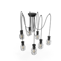 Industrial Chandelier PNG & PSD Images