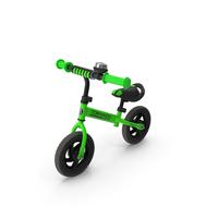 Green Balance Bike PNG & PSD Images