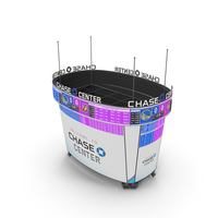 Chase Center Scoreboard PNG & PSD Images