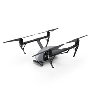 DJI Inspire 2 Quadcopter Drone PNG & PSD Images