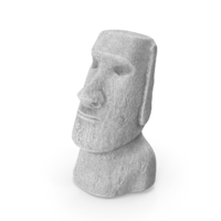 Easter Island Rock Moai Statue PNG & PSD Images
