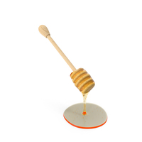 Honey Dripping from Wooden Honey Drizzler PNG & PSD Images