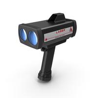 LIDAR Traffic Enforcement Speed Gun PNG & PSD Images