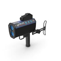 LTI UltraLyte LR 20 20 Laser Speed Gun PNG & PSD Images