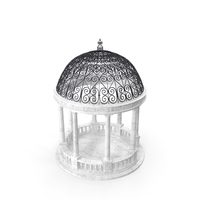 Marble Stone Garden Gazebo PNG & PSD Images
