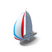 Sailboat Princess II PNG & PSD Images