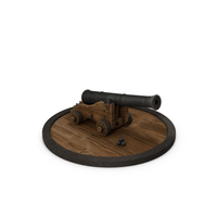 Medieval Vessel Ship Cannon PNG & PSD Images