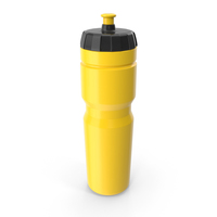 Yellow Sport Bottle PNG & PSD Images