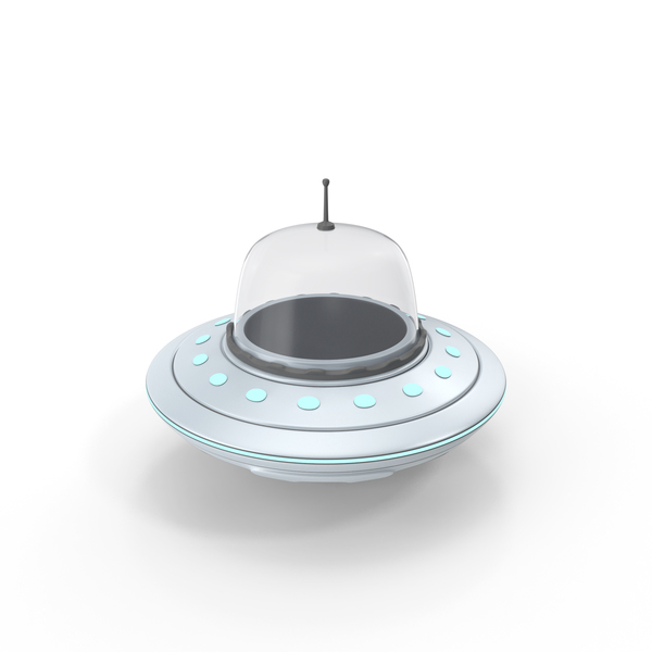 UFO Cartoon Style PNG & PSD Images
