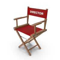 Directors Wood Chair PNG & PSD Images
