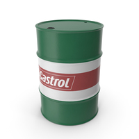 Oil Barrel Castrol PNG & PSD Images