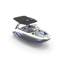 Speed Motor Boat Yamaha 242X PNG & PSD Images