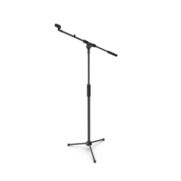 On-Stage Microphone Tripod Stand PNG & PSD Images