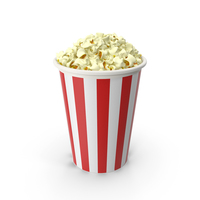 Popcorns In Tub PNG & PSD Images