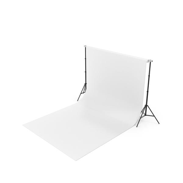 Empty Photo Studio White Backdrop Kit PNG & PSD Images