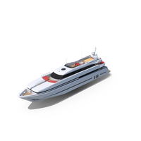 Super Luxury Motor Yacht PNG & PSD Images