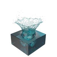 Blue Water Splash PNG & PSD Images