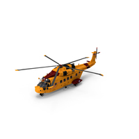 Cormorant CH-149 Helicopter PNG & PSD Images