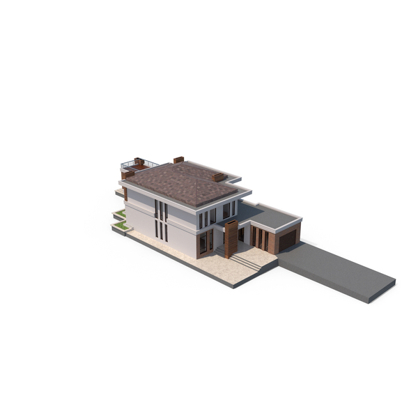 Villa With Separate Rooms PNG & PSD Images