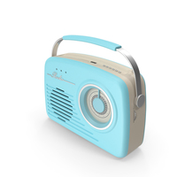 Blue Rotary Radio PNG & PSD Images