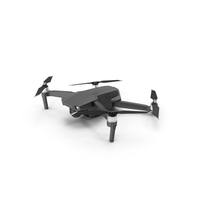 Quadcopter with Security Camera PNG & PSD Images
