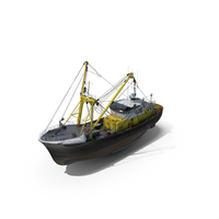 Fishing Boat Trawler PNG & PSD Images