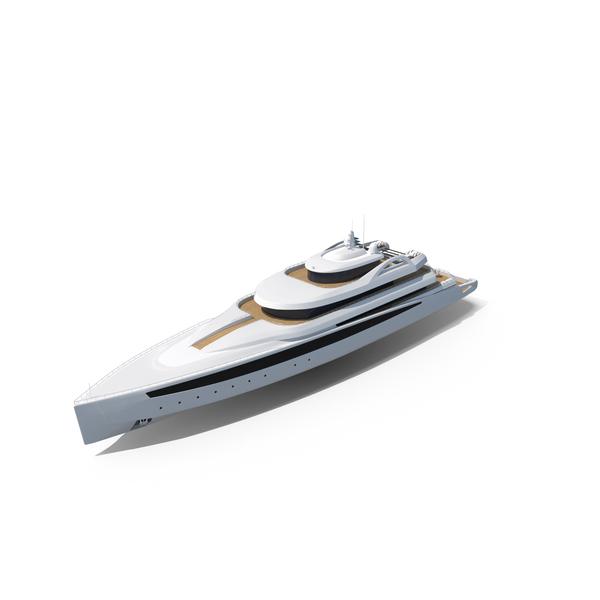 Modern Mega Yacht PNG & PSD Images