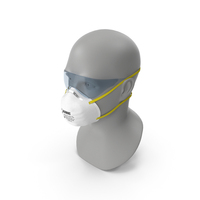 N95 Respirator - Face Mask 2 PNG & PSD Images