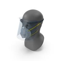 Medical N95 Respirators and Fullface Mask PNG & PSD Images