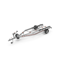 Boat Trailer Single Axle PNG & PSD Images
