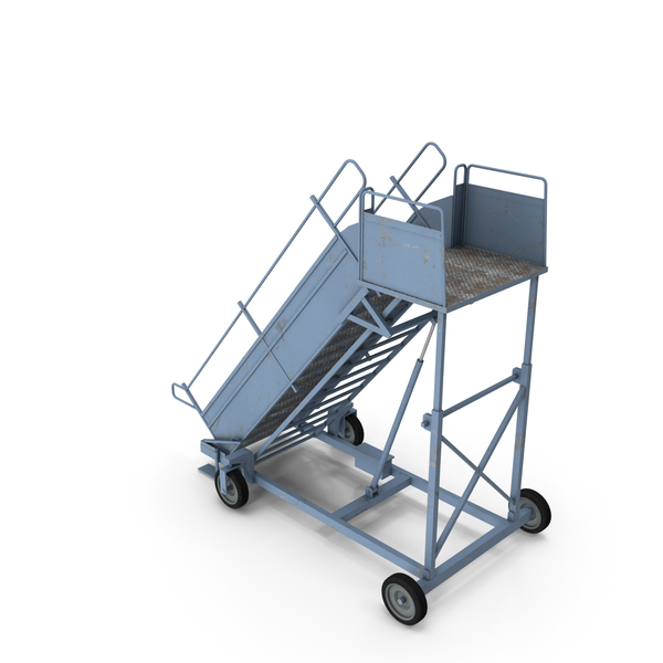 Airplane Stairs PNG & PSD Images
