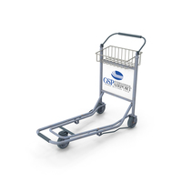 Airport Hand Cart PNG & PSD Images