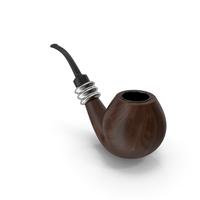 Smoking Pipe Walnut PNG & PSD Images
