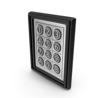 Digital Code Box PNG & PSD Images