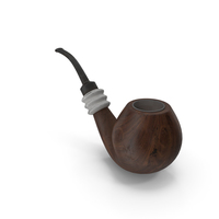 Smoking Pipe Walnut Dirty PNG & PSD Images
