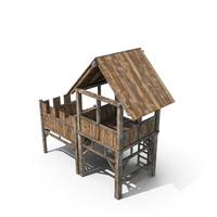 Medieval Guard Tower PNG & PSD Images