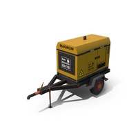 Mobile Electric Generator PNG & PSD Images