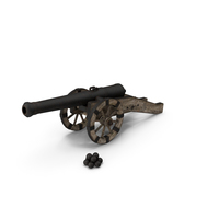 Old Medieval Cannon PNG & PSD Images
