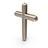 Bling Diamonds Symbol Cross PNG & PSD Images