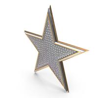 Bling Diamonds Symbol Star PNG & PSD Images